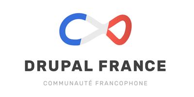 Logo 4 fond bleu