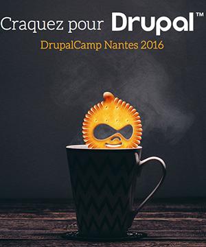 Drupal camp Nantes logo